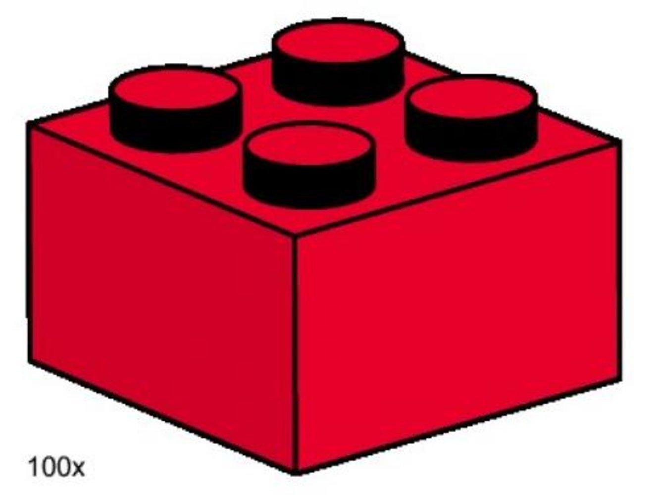 2 x 2 Red Bricks