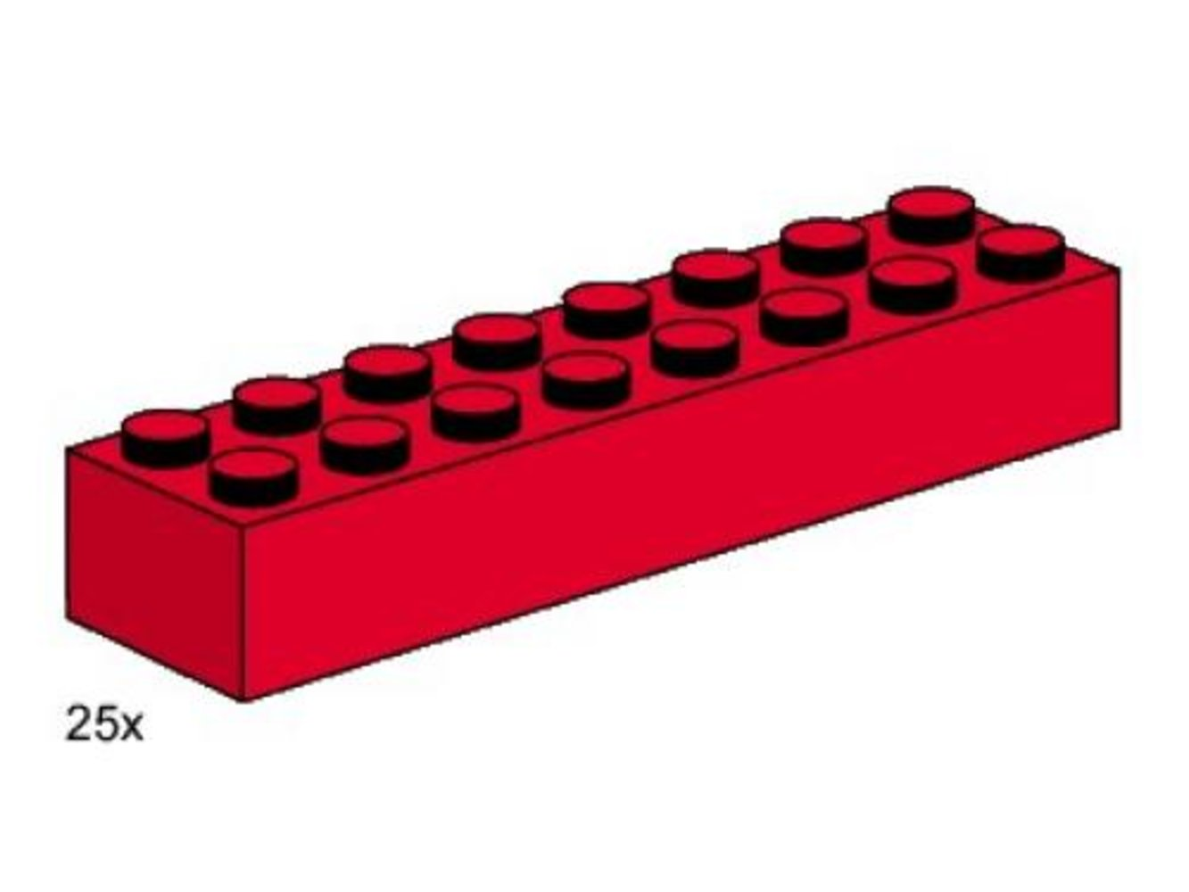 2 x 8 Red Bricks