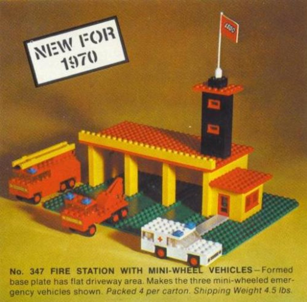Fire Station with Mini-Wheel Vehicles