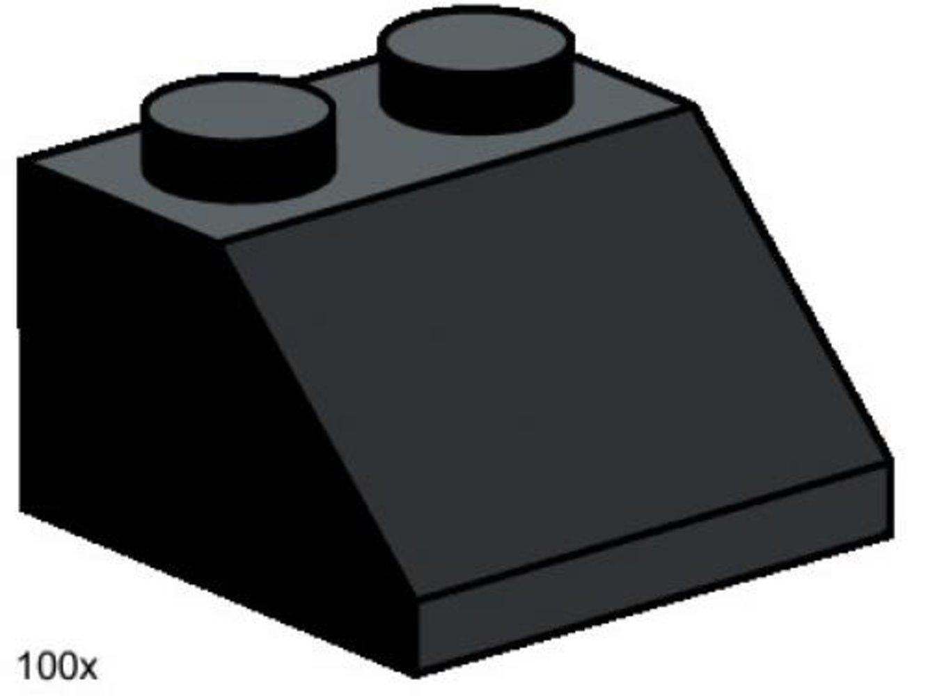 2 x 2 Roof Tiles Steep Sloped Black