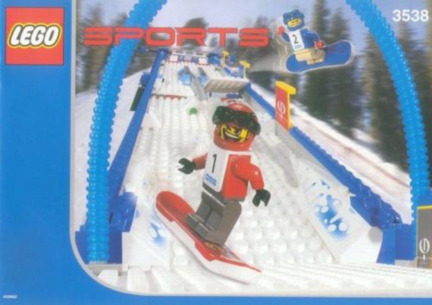 Snowboard Boarder Cross Race