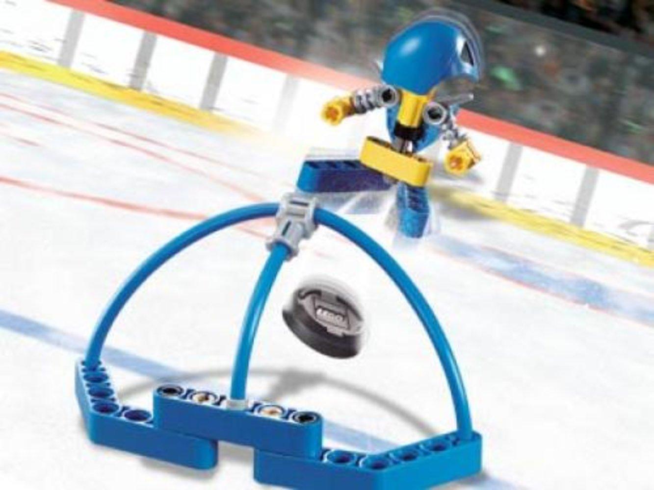 Blue Player & Goal