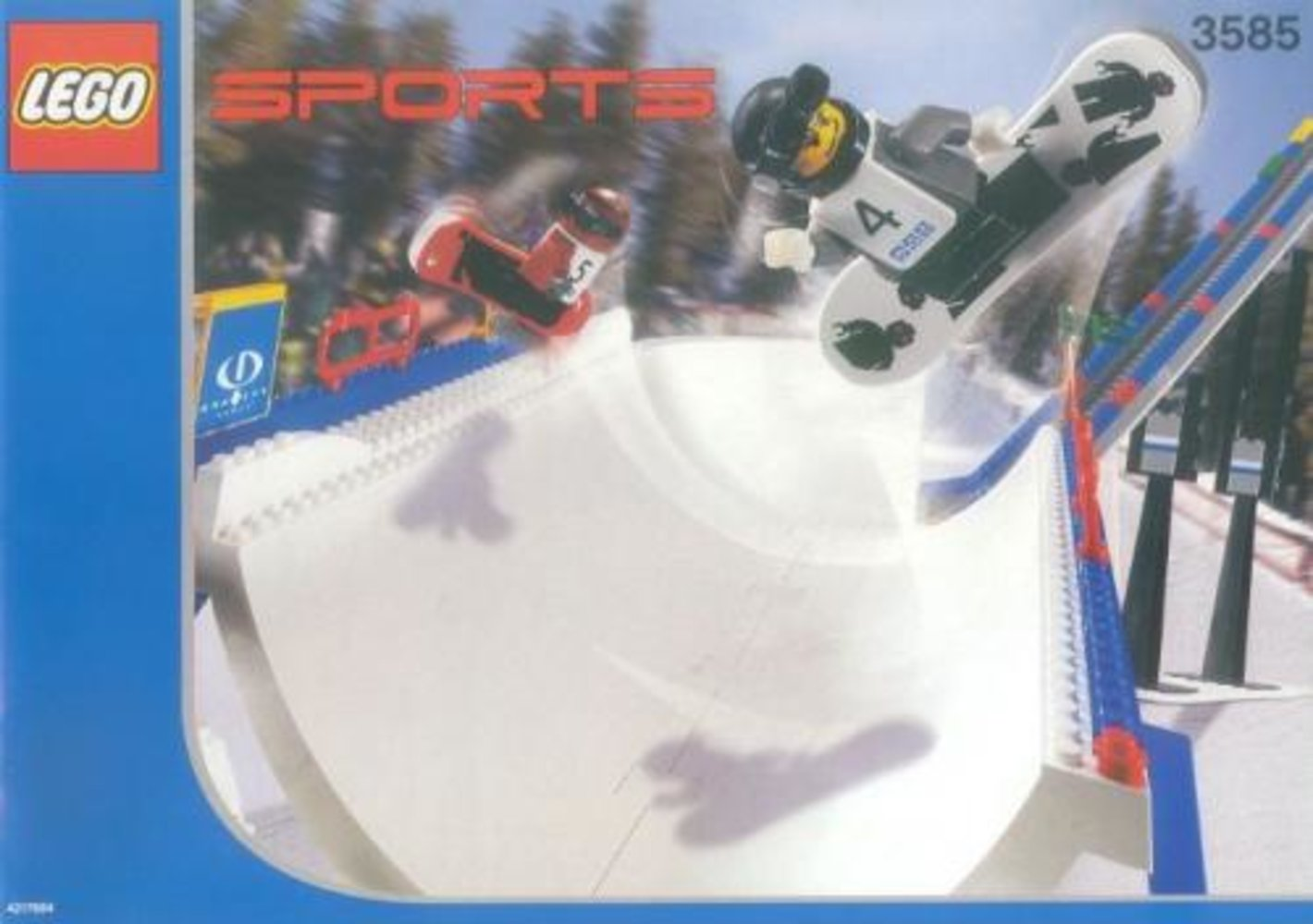 Snowboard Super Pipe