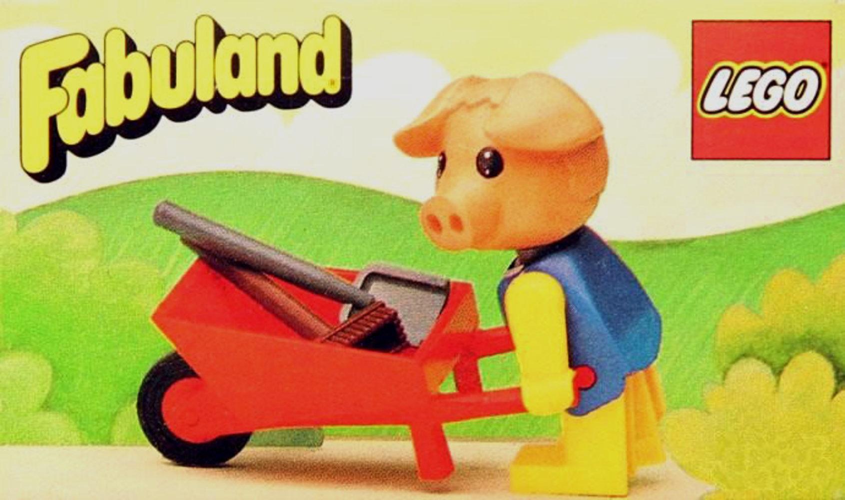Percy Pig's Wheelbarrow