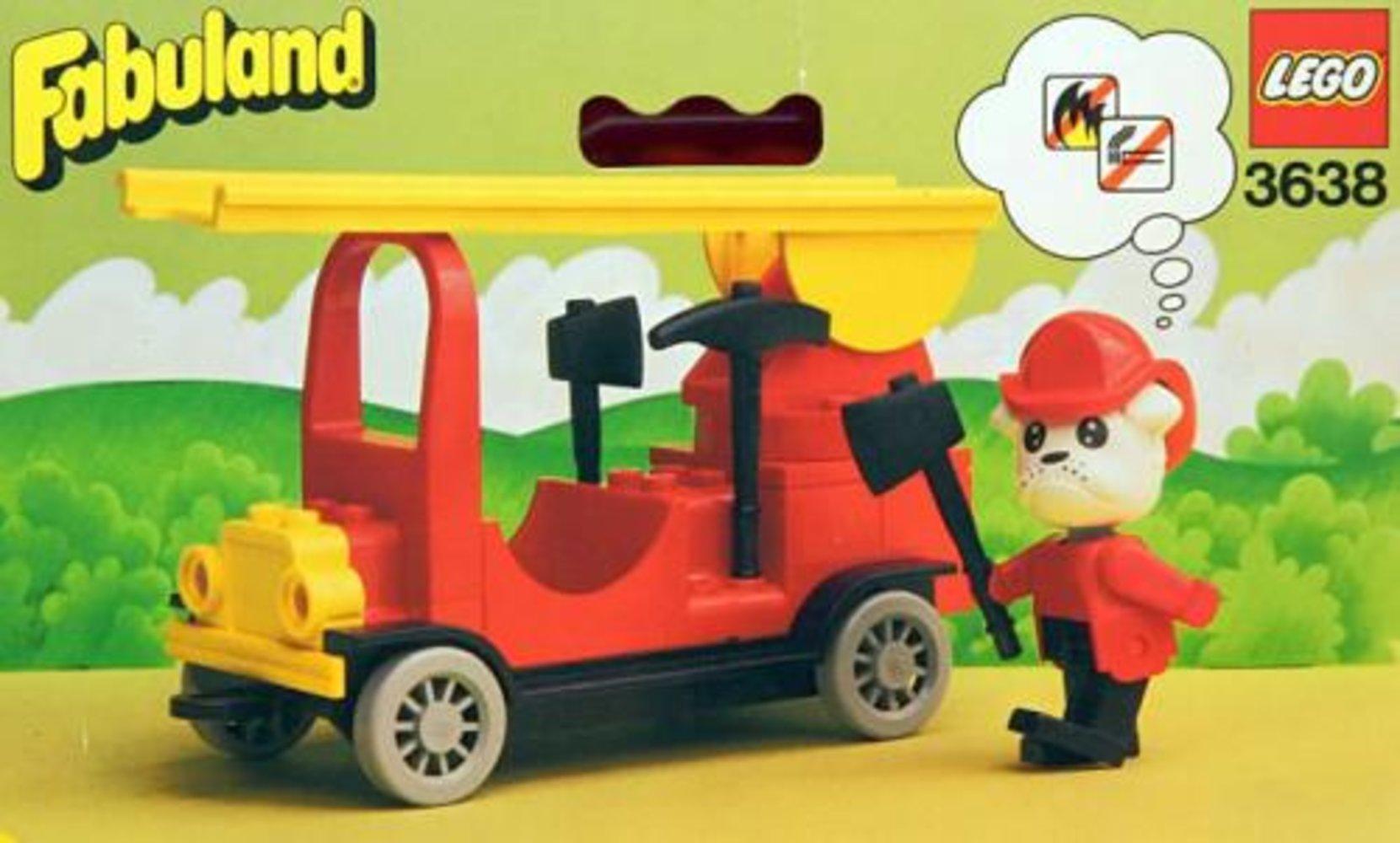 Buster Bulldog's Fire Engine