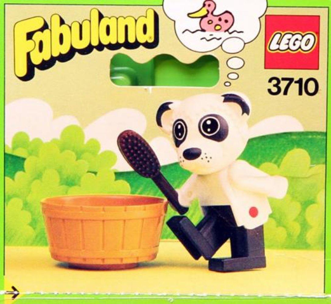 Peter Panda Takes a Bath