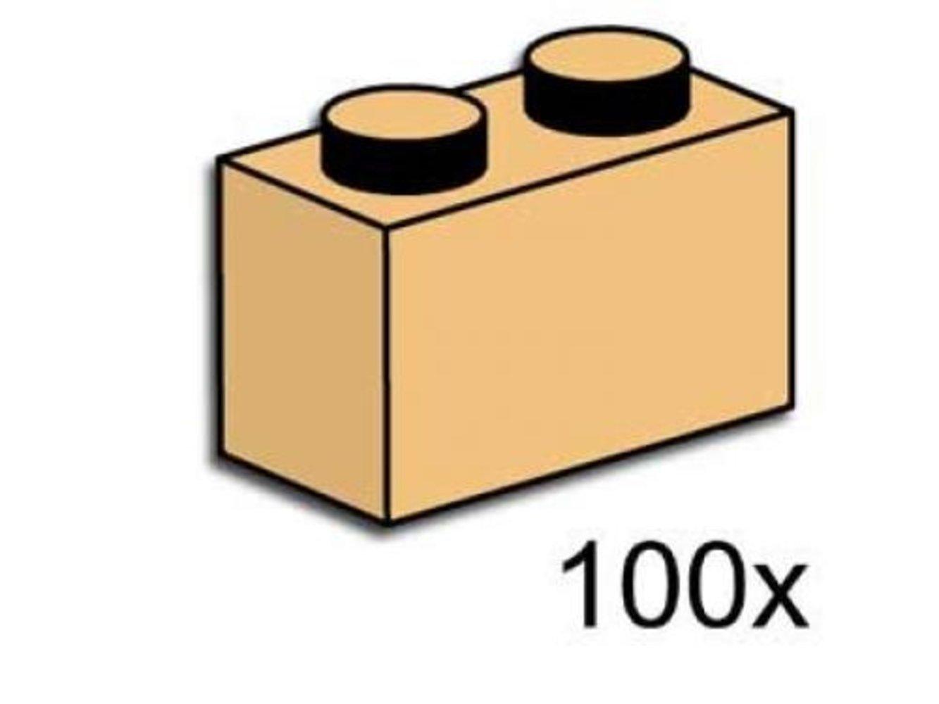 1 x 2 Brick Tan