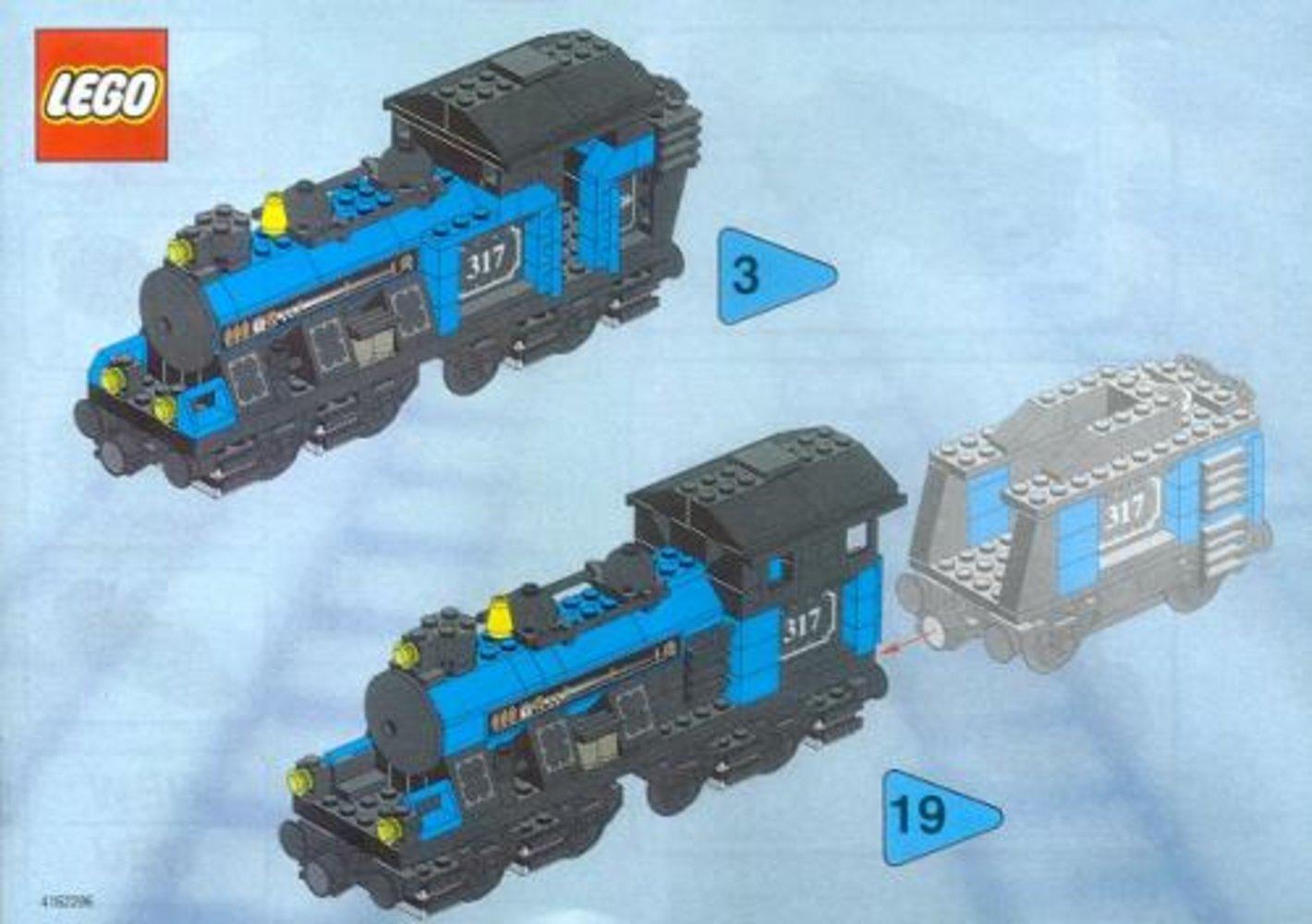 Large Locomotive (base unit without color trim elements)