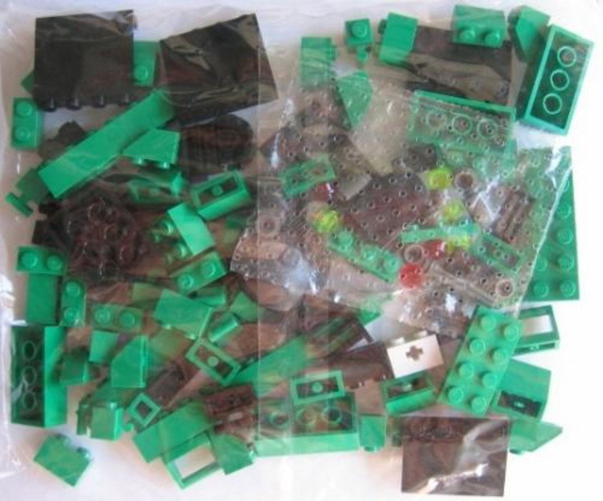 Locomotive Green Bricks