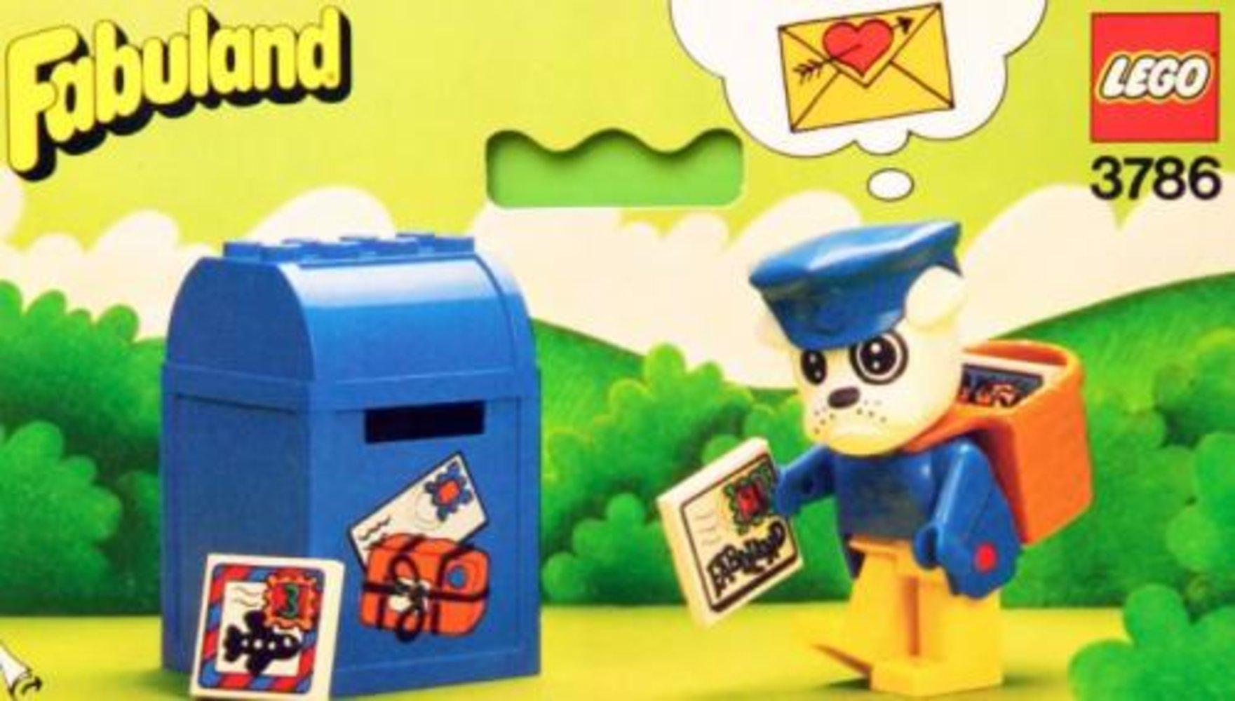 Buzzy Bulldog the Postman