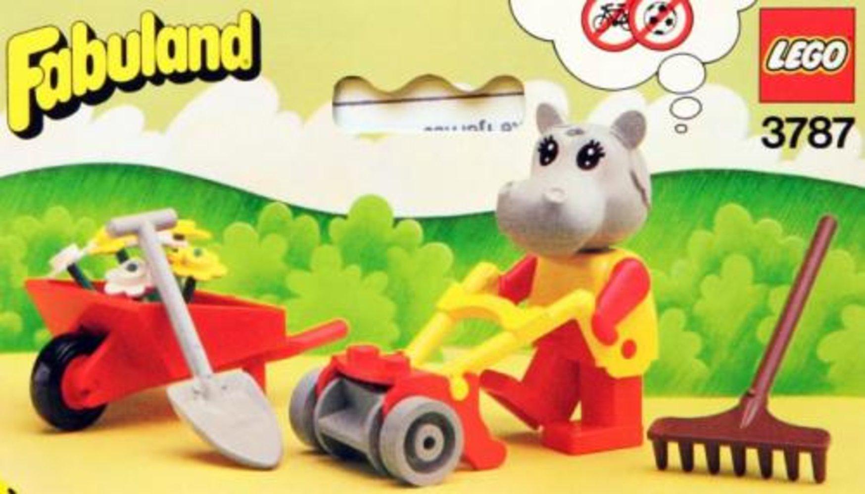 Hannah Hippopotamus, Gardener