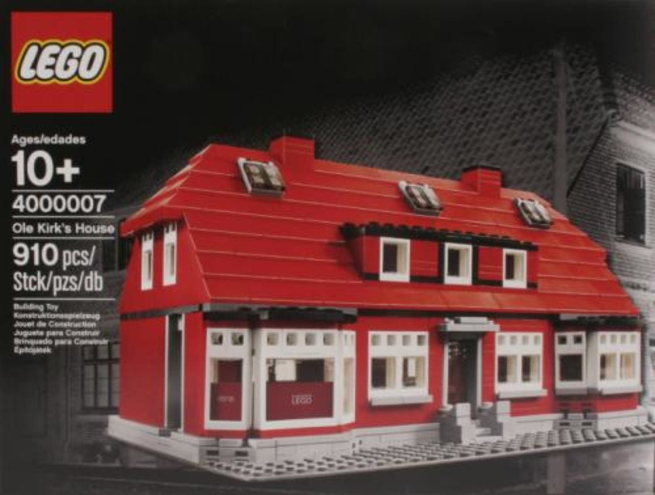 Ole Kirk's House (LEGO Employee Christmas Gift Version)