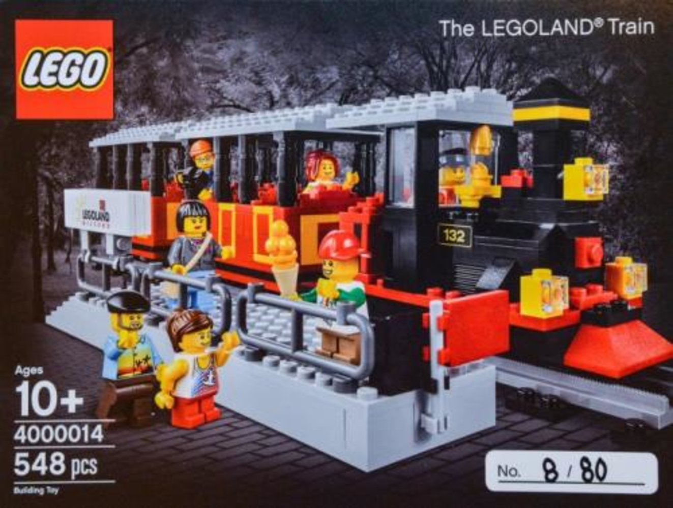 The LEGOLAND Train (LEGO Inside Tour Version)