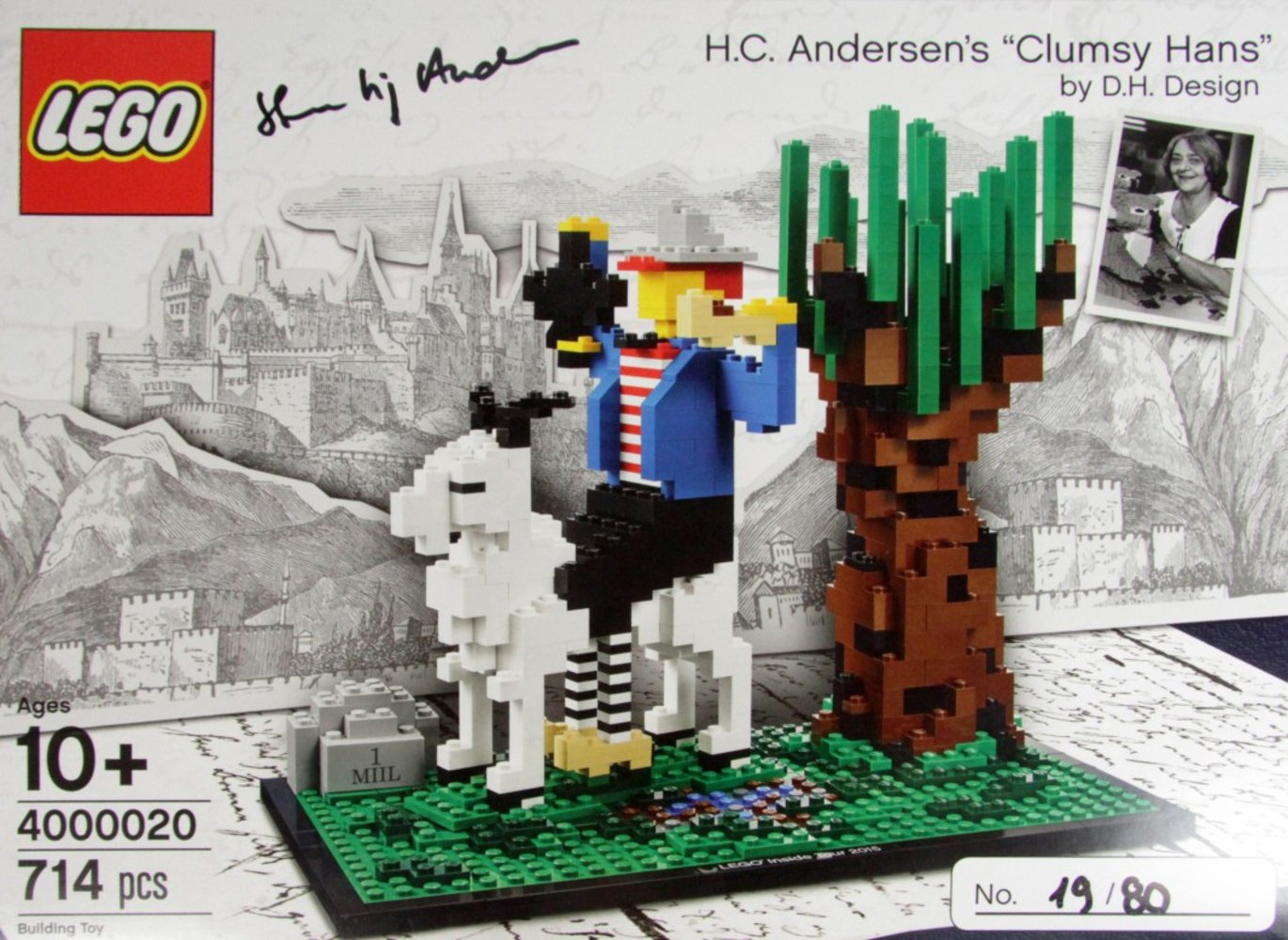 "H.C. Andersen's ""Clumsy Hans' by D.H. Design (LEGO Inside Tour Version)"