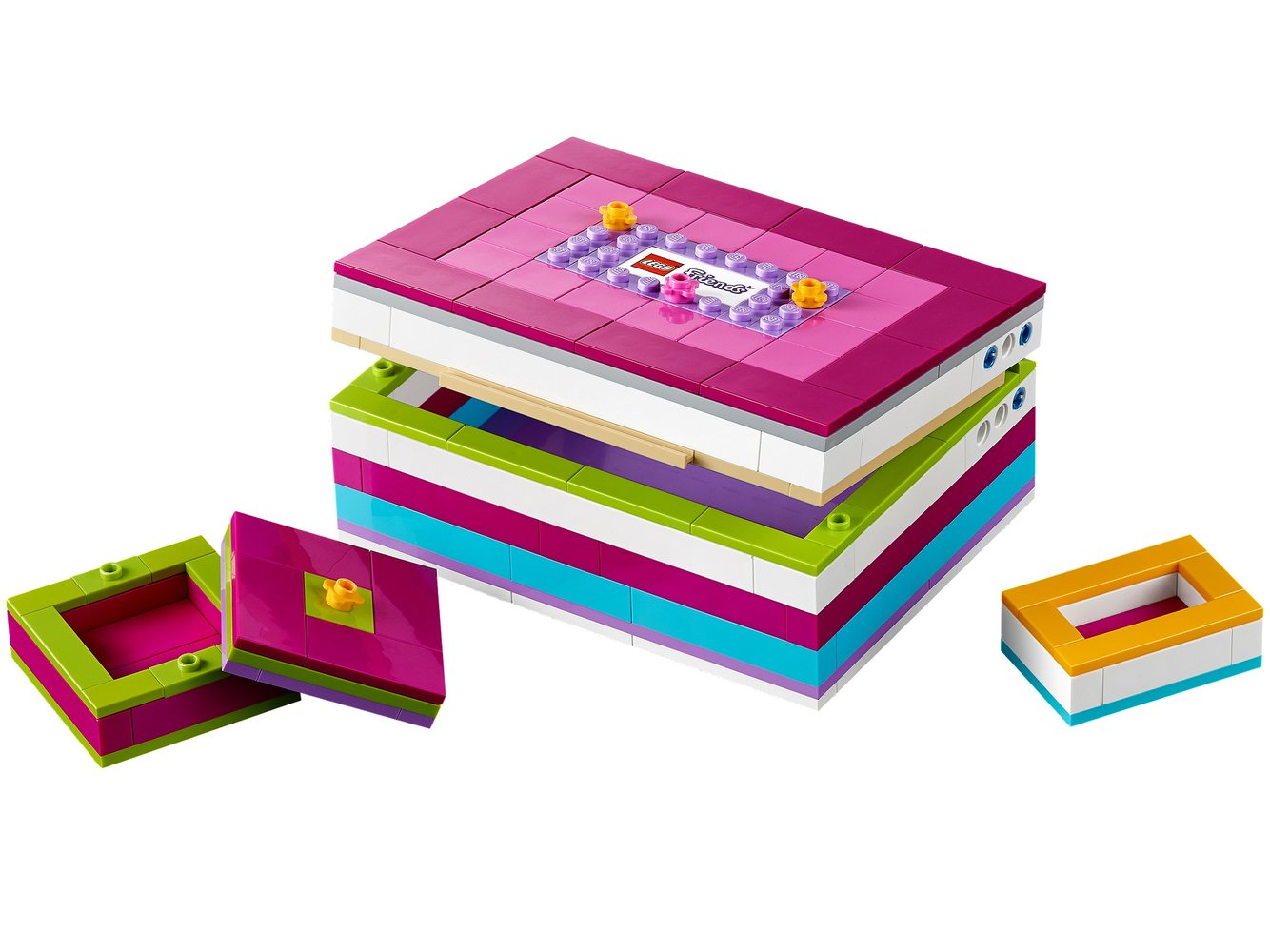 LEGO Friends Buildable Jewelry Box