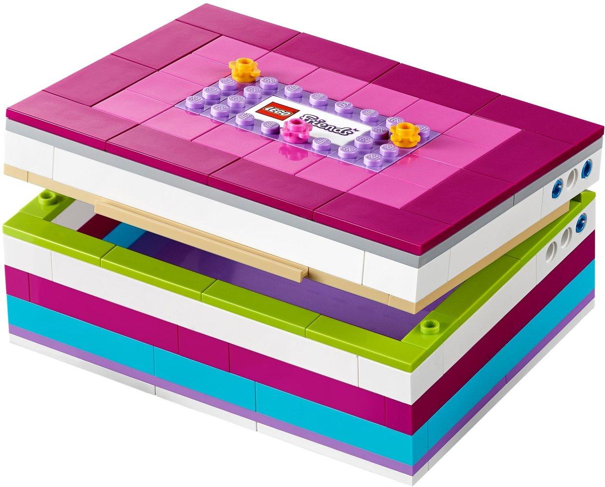 Lego Friends 40114 pas cher, Boîte à bijoux à construire Friends