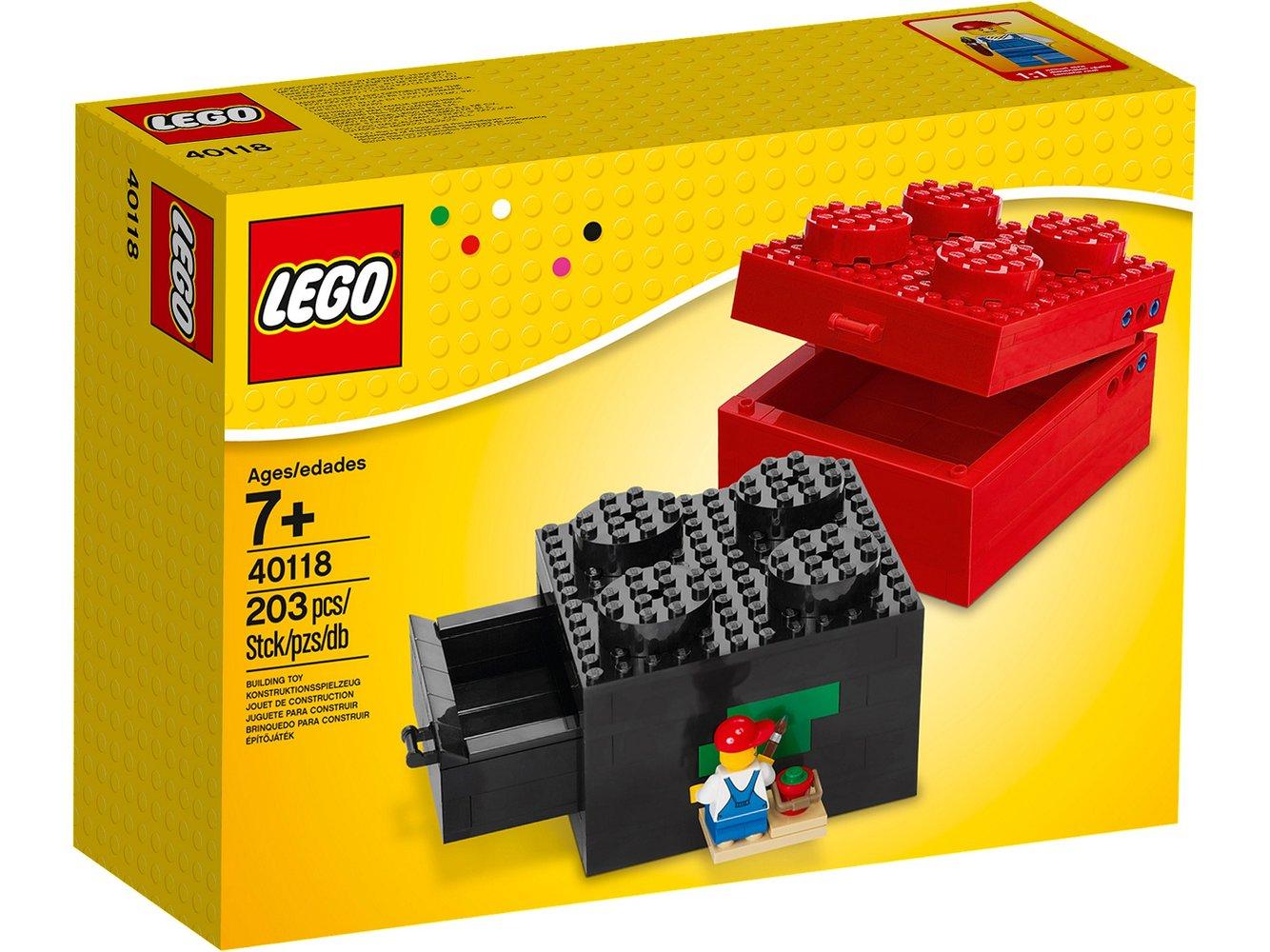 Buildable Brick Box 2x2