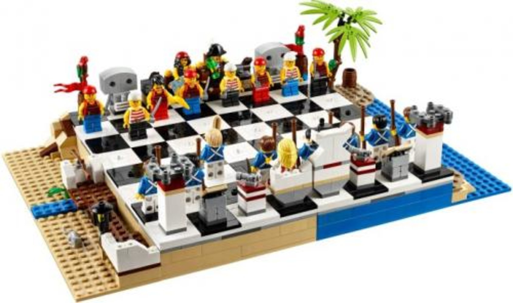 Pirates Chess Set