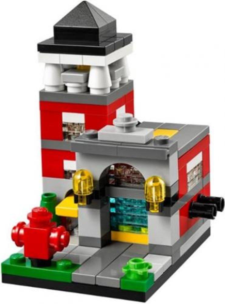 Bricktober Fire Station