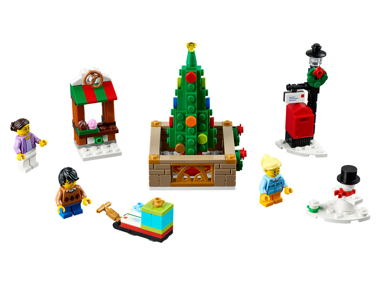 Christmas Town Square