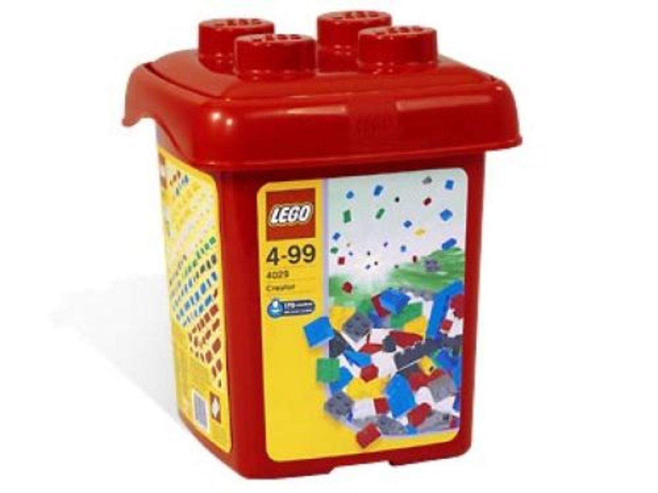Build with Bricks Bucket {Red Bucket}