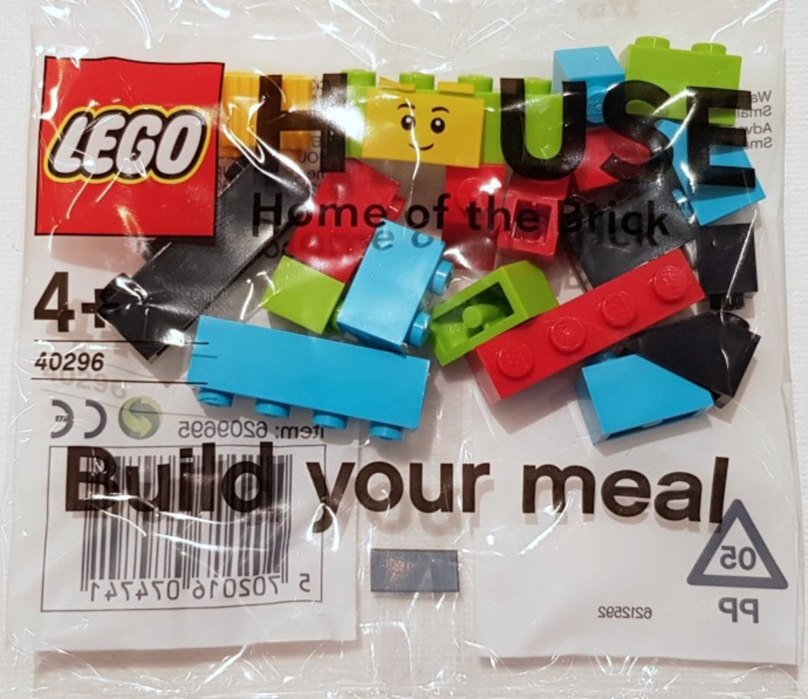 Lego house build your meal