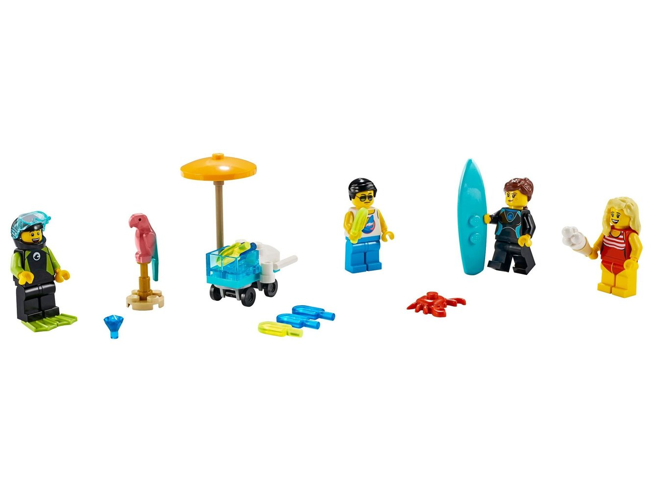 Summer Celebration Minifigure Set