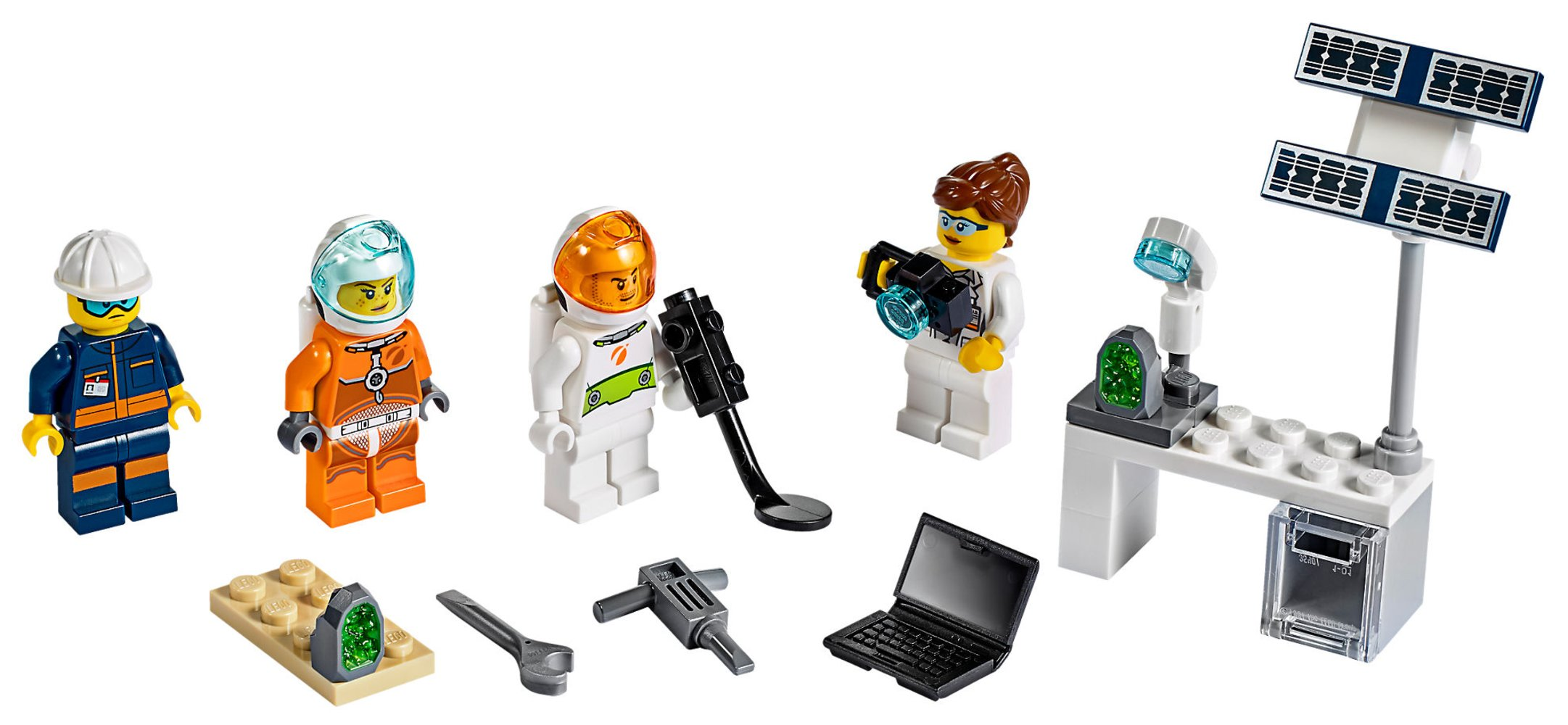 Mars Exploration Minifigure Pack