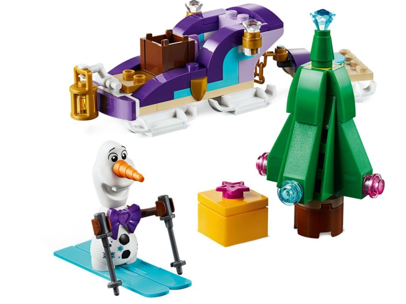 Olaf's Traveling Sleigh