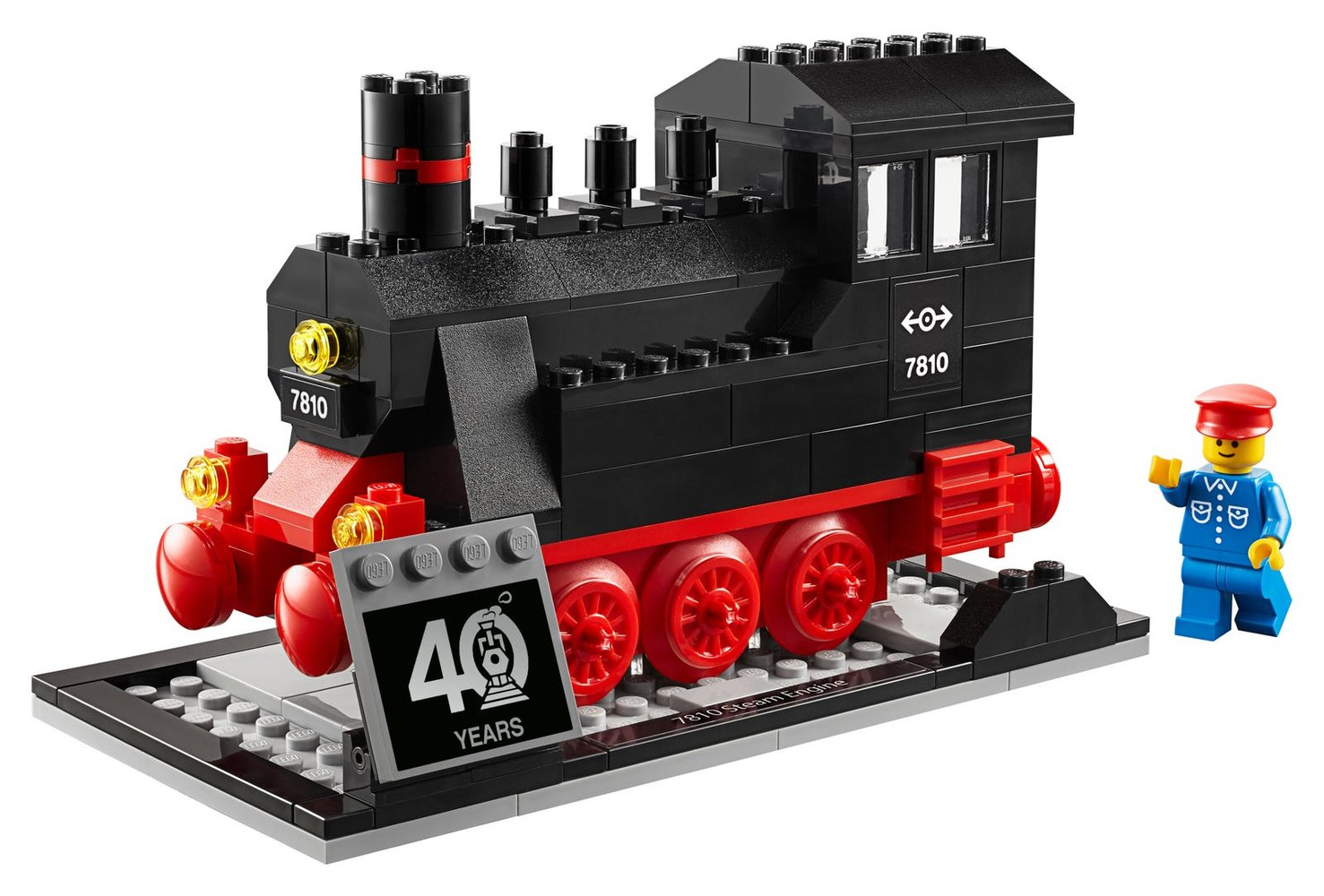 40 Years of LEGO Trains
