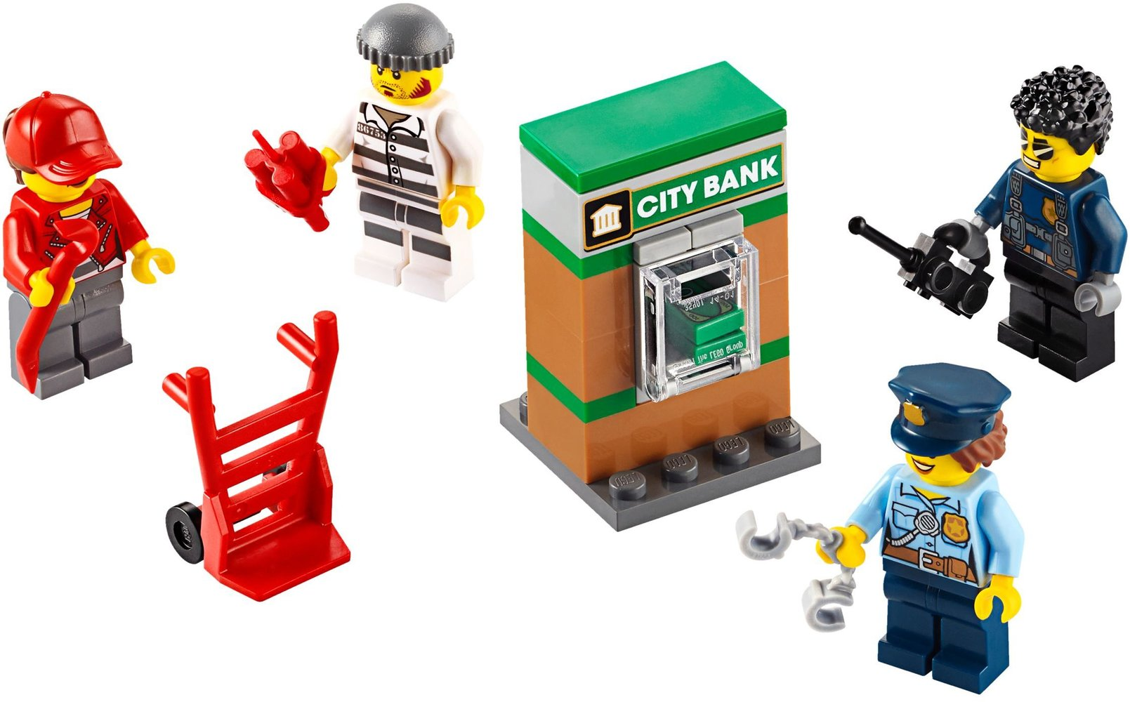 Police Minifigure Accessory Set