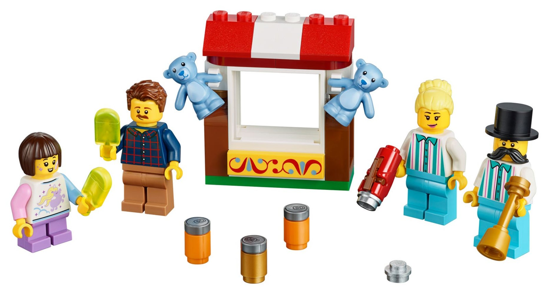 Fairground Minifigure Accessory Set