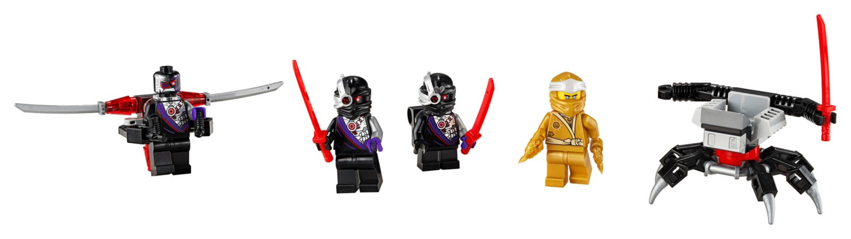 Golden Zane Minifigure Accessory Set