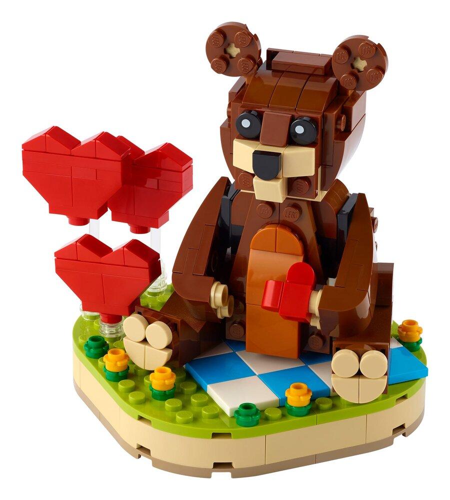 Valentine's Brown Bear