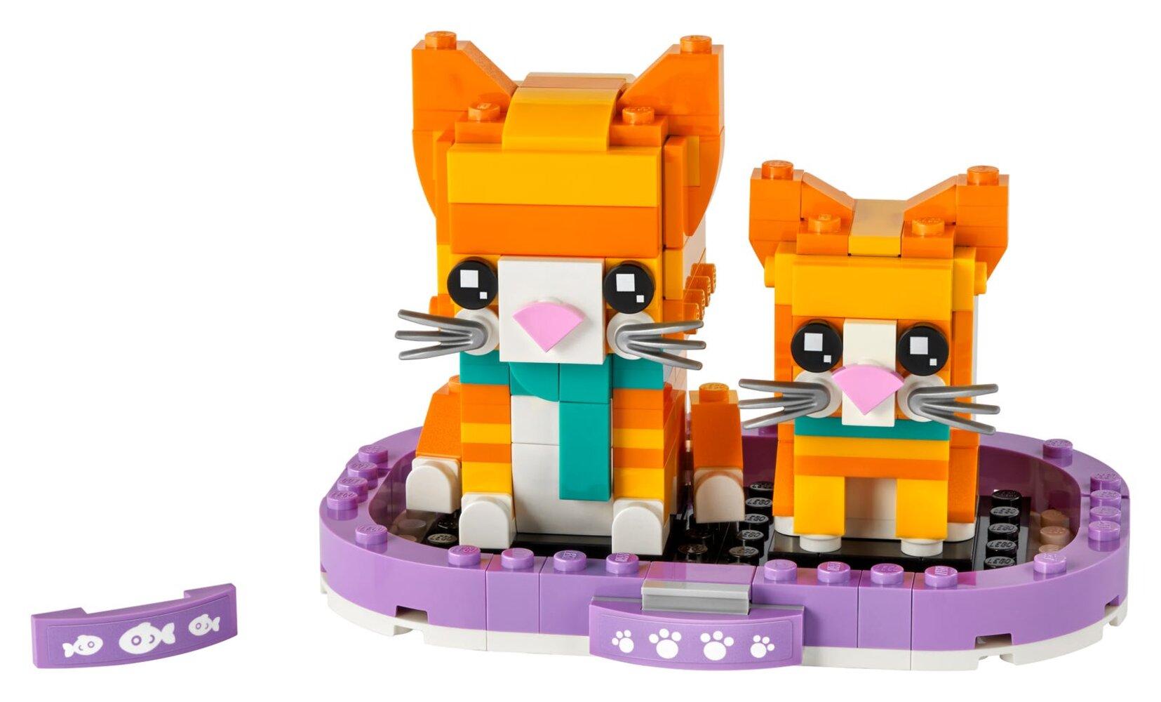 Ginger Tabby and Kitten