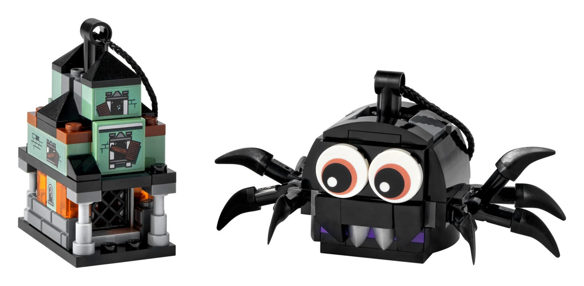 Spider & Haunted House Pack