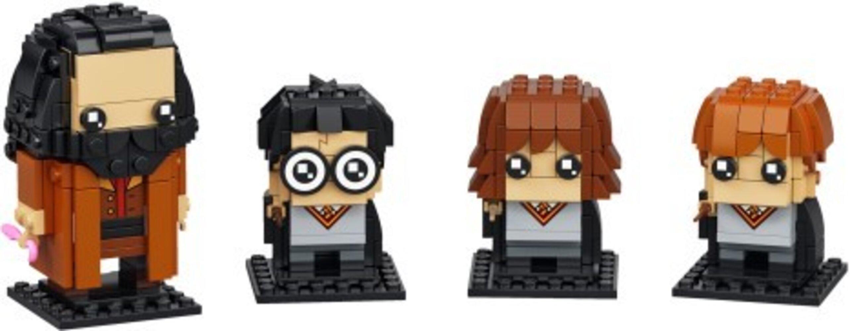 Harry, Hermione, Ron & Hagrid