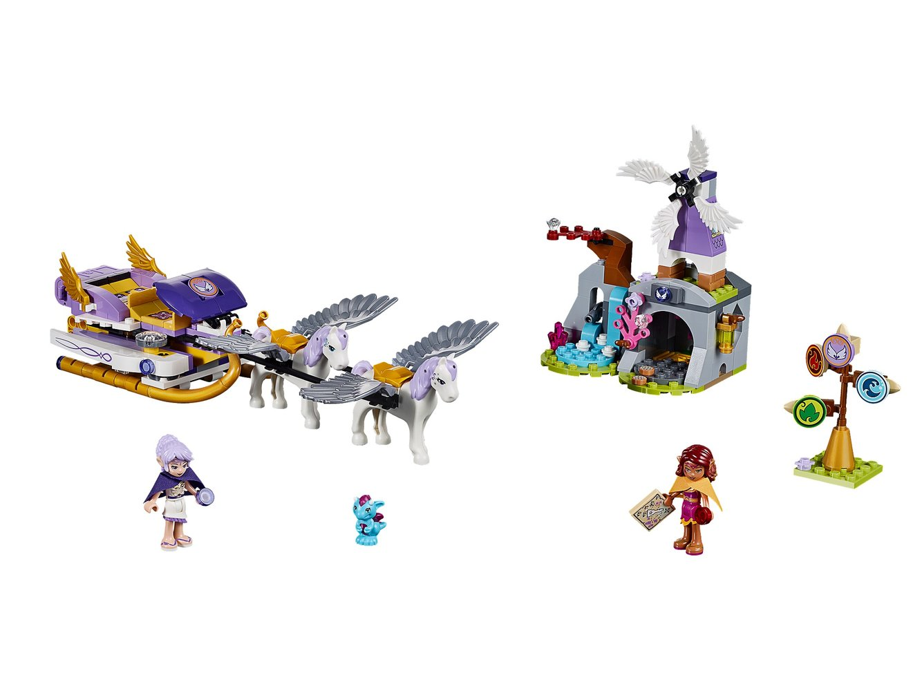 Aira's Pegasus Sleigh