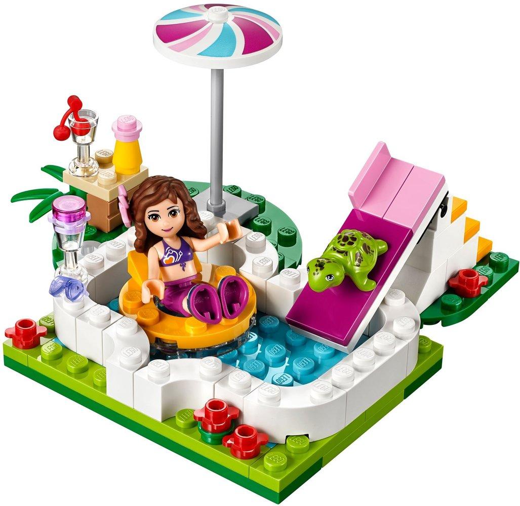 Lego Friends 41090 Pas Cher La Piscine D Olivia