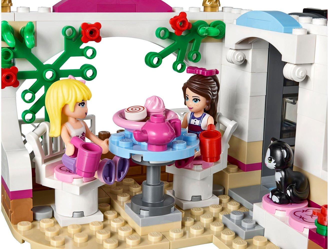 Lego Friends 41119 pas cher, Le cupcake café d'Heartlake City