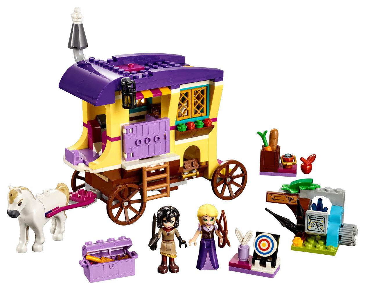 Rapunzel's Travelling Caravan