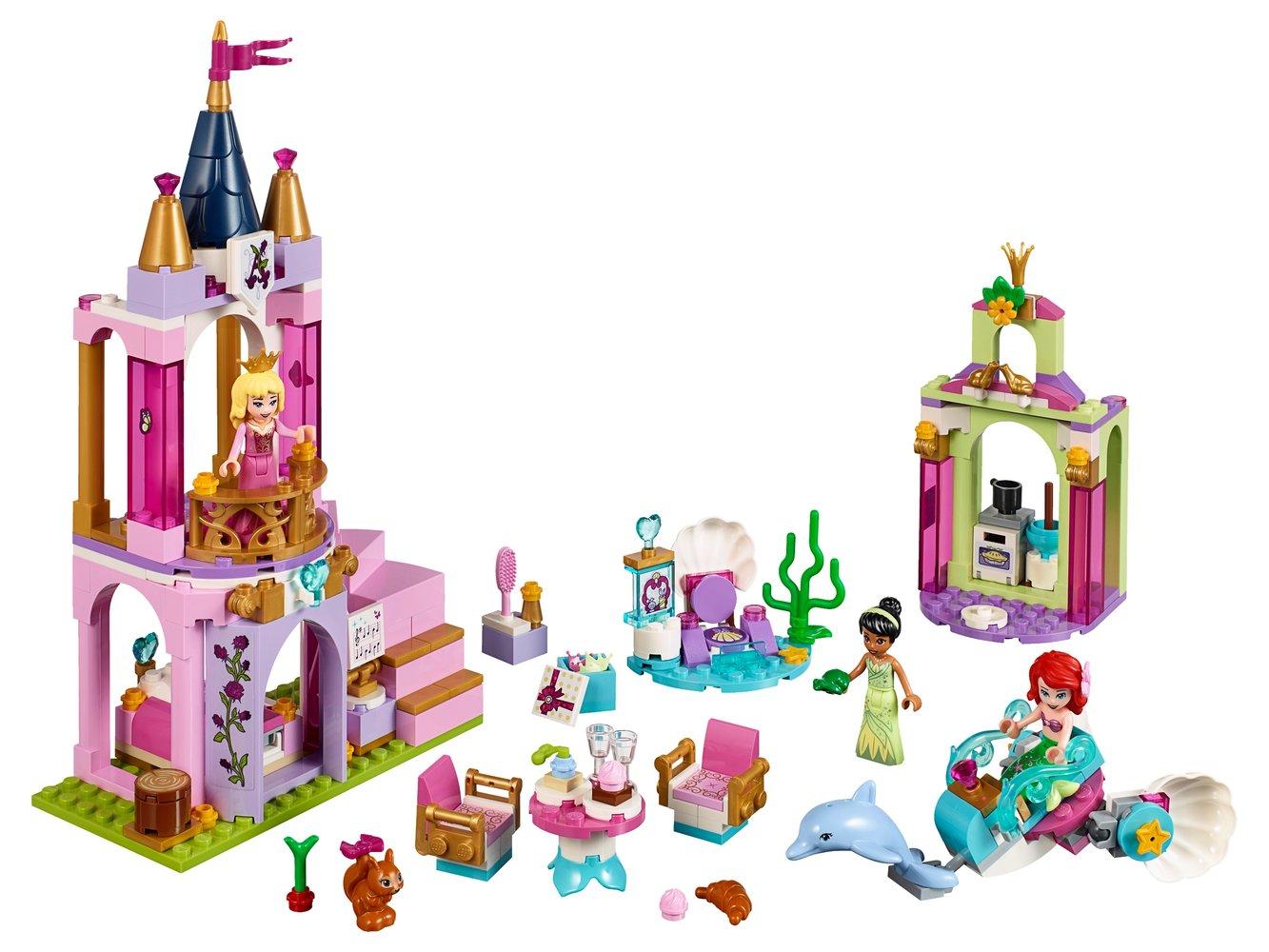 Ariel, Aurora, and Tiana's Royal Celebration