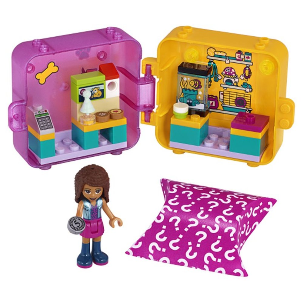 Andrea's Shopping Play Cube