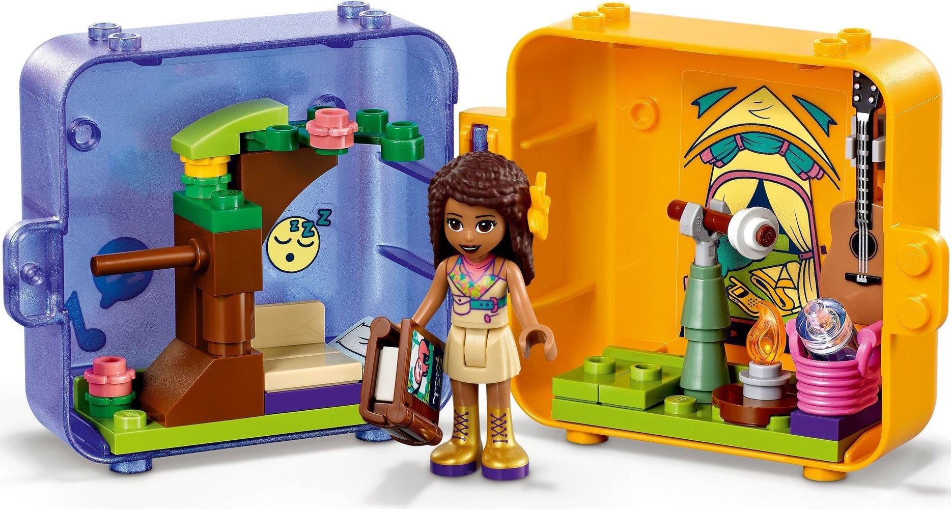 Lego Friends 41434 pas cher, Le cube de jeu de la jungle d ...