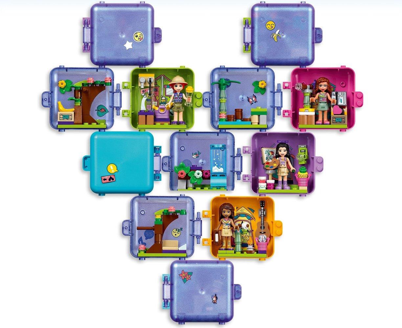 Lego Friends 41435 pas cher, Le cube de jeu de la jungle ...