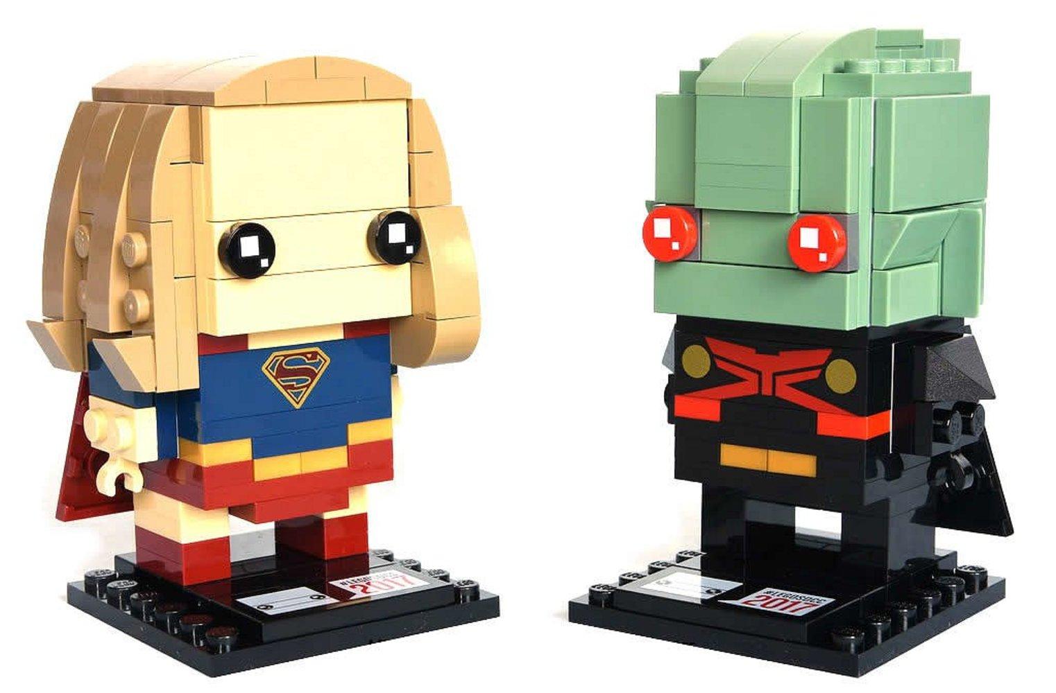Supergirl & Martian Manhunter