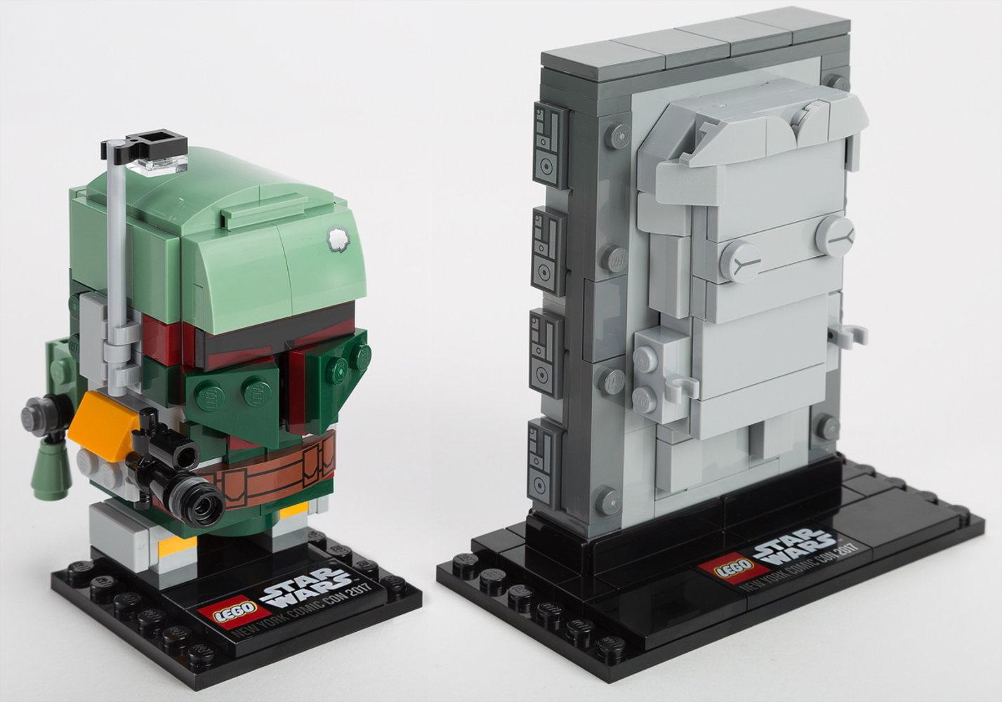 Boba Fett & Han Solo in Carbonite