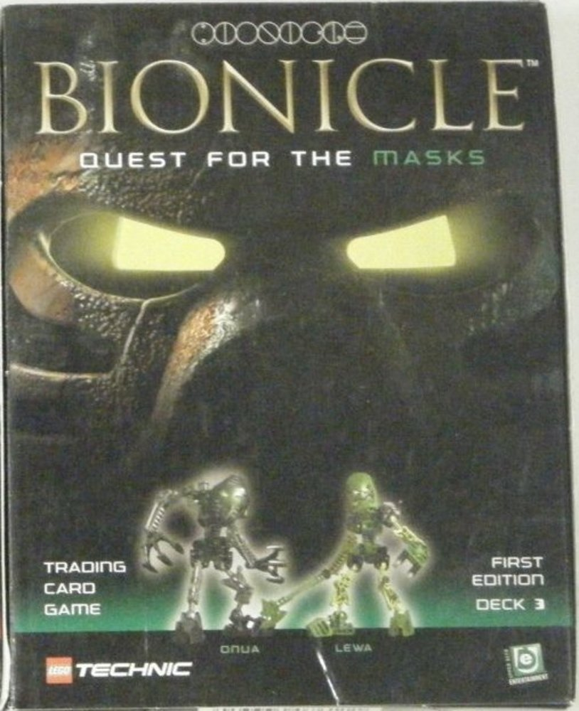Bionicle Trading Card Game 1: Onua & Lewa