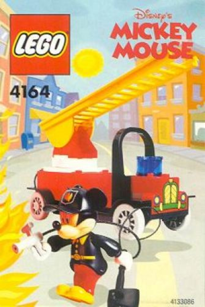 Mickey's Fire Engine