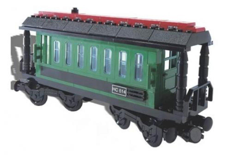 Passenger Wagon Green (White Box)